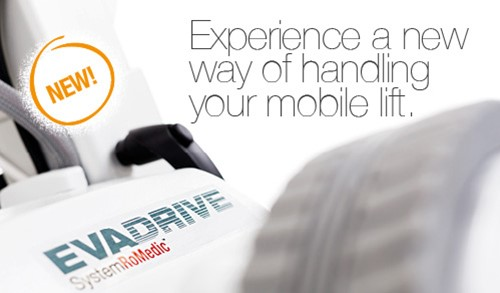 EvaDrive a new motorised mobile lift